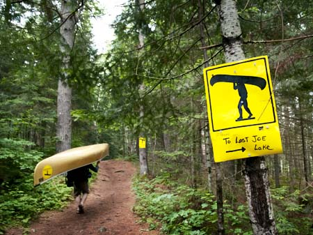 Image result for backcountry canoeing portage