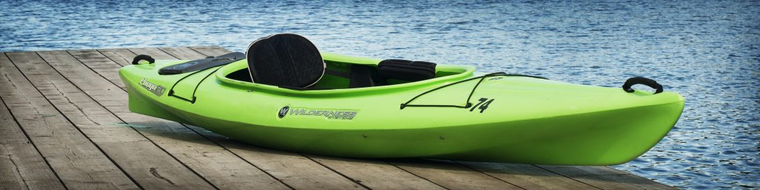 Solo recreational kayak