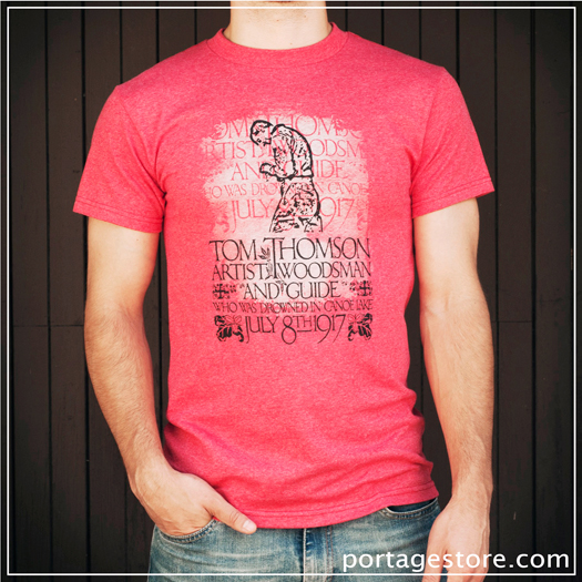 Adult: Tom Thomson Silhouette - Red