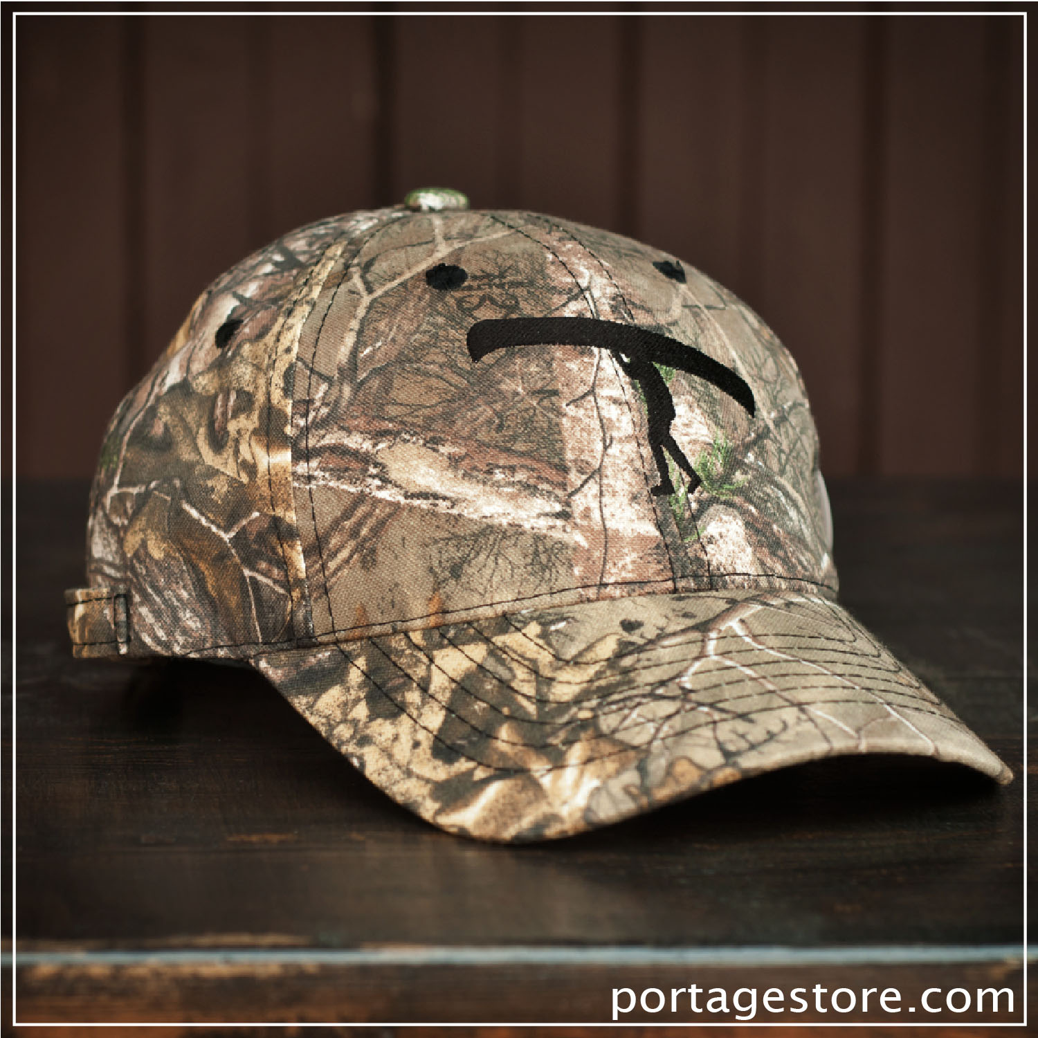 Adult: Real Tree Camo Portage Man Cap