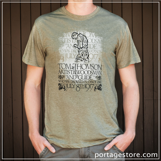 Adult: Tom Thomson Silhouette - Khaki Green