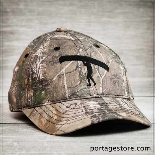 Adult: Official Real Tree Camo Ball Cap - Portage Man