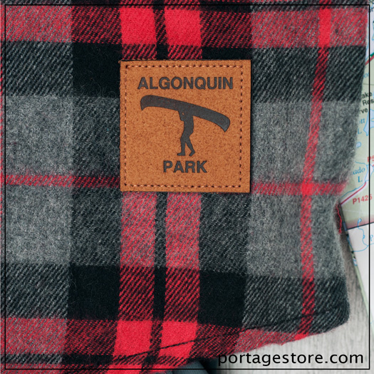 Algonquin Park Leather Patch